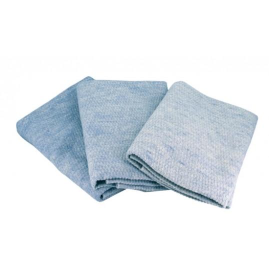 Tæppe sart lyseblå