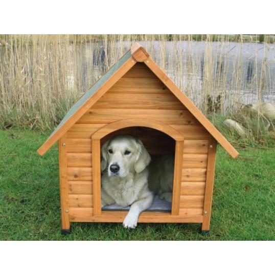 Natura hundehus med spids tag. str. XL. LBH 96x105x112 cm. TILBUD Spar 200,-Sendes med fragtmand