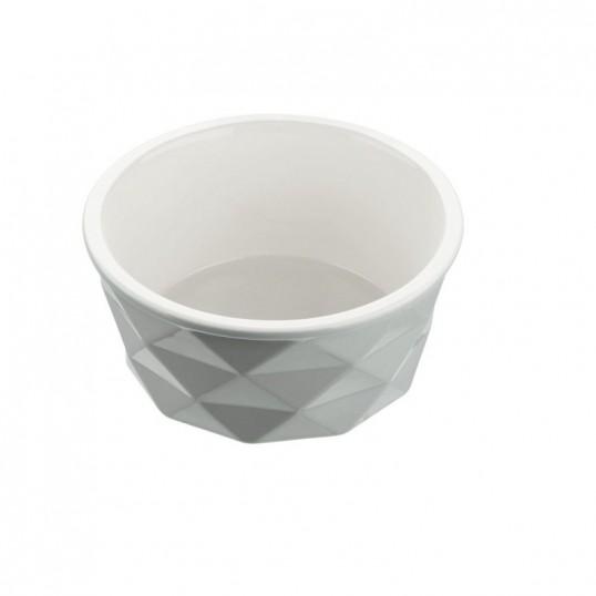 HUNTER keramik skål. EIBY. Lysegrå.