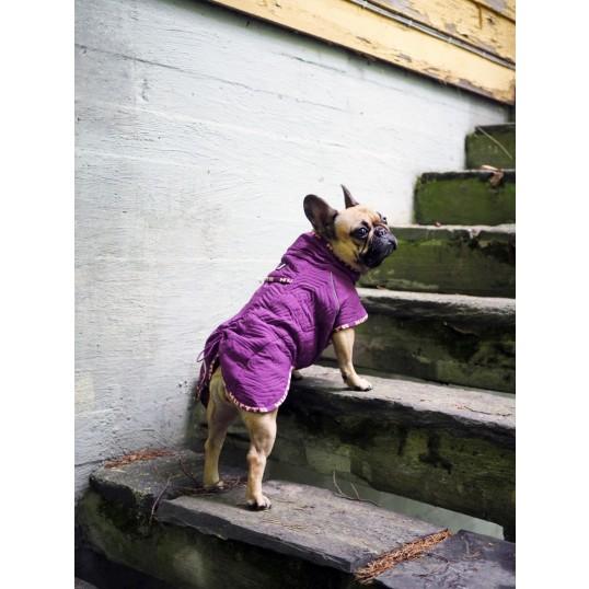 Hurtta Casual Quilted jakke velegnet til kraftige hunderacer