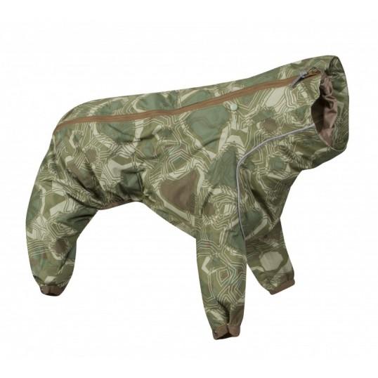 Hurtta Downpour Suit i grøn camo til hunde