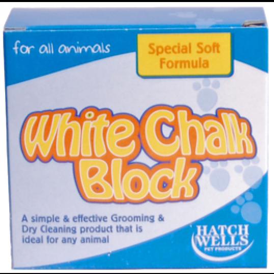 Hvid kridt blok 150 gr.