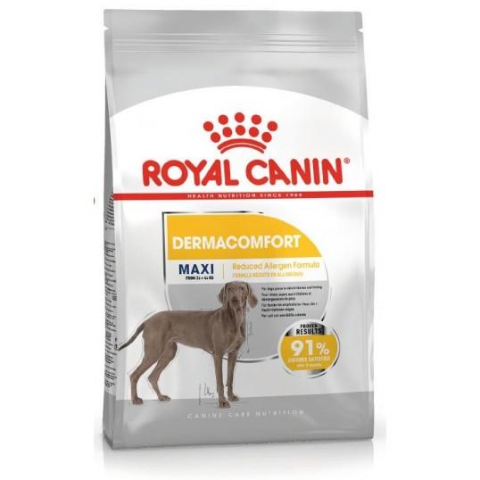 Royal Canin Maxi DermaComfort. Hunde over 15 måneder. 26-44kg.