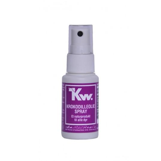 KW Krokodilleolie Spray. 30ml.