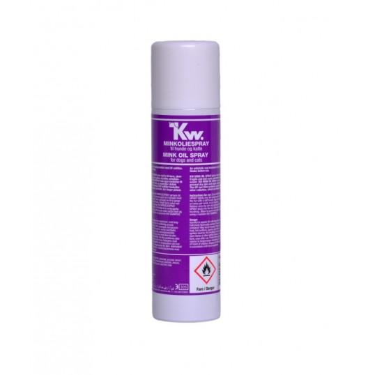 Kw Minkolie spray. 220 ml.