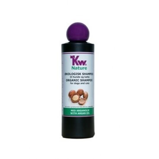 KW nature Økologisk genopbyggende Shampoo med Argan Olie