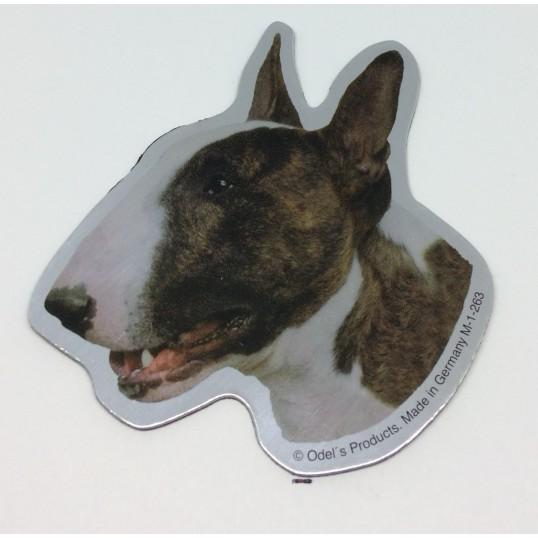 Magnet med Bull terrier