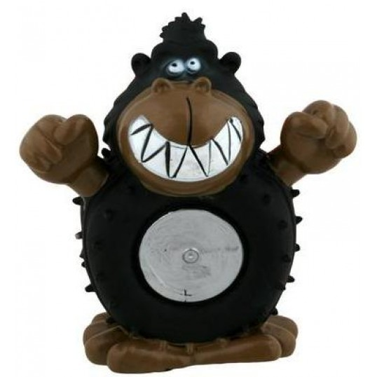Vinyl gorilla med piv - 12 cm.