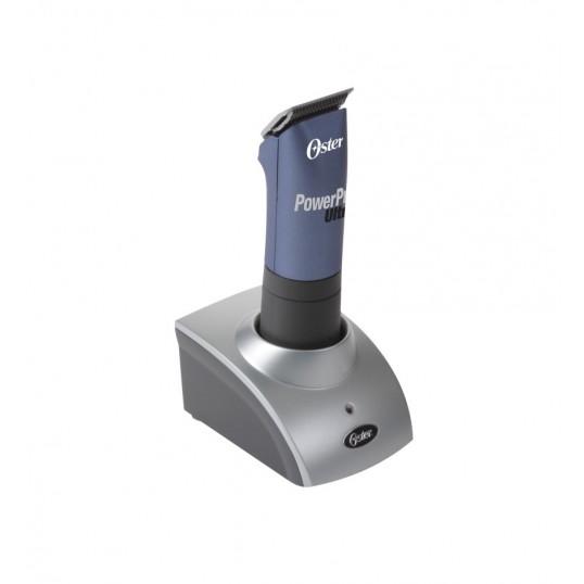 Oster Power Pro Ultra klippemaskine opladelig m/1 batteri, kuffert & skær.