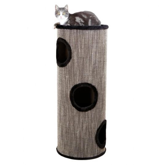 Amado Cat Tower, 100 cm, black