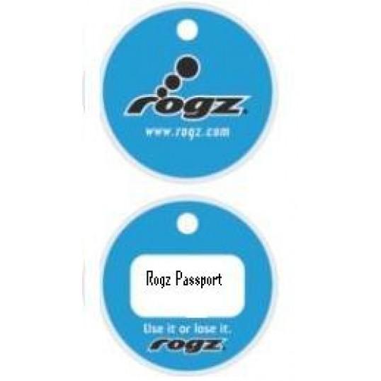 Rogz Passport hundetegn Blue. 2 størrelser.