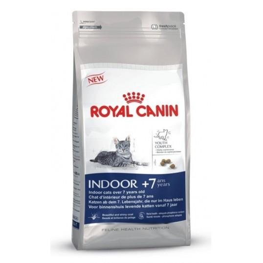 Royal Canin Indoor +7. Til indekatte over 7 år.