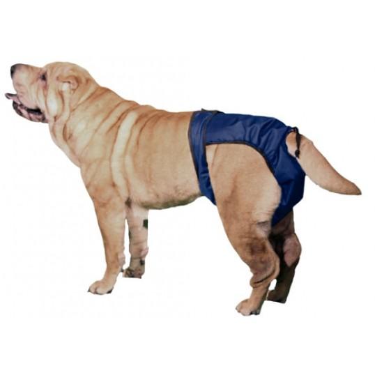 2 pk. Beskyttelsesbukser SnuggEase til både tæver og hanhunde i alle aldrer.