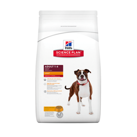 Hill's Science Plan™ Canine Adult Light med kylling