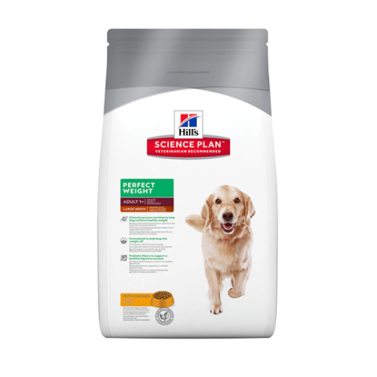 Hill's Science Plan™ Canine Adult Perfect Weight™ Large Breed med kylling, 12kg