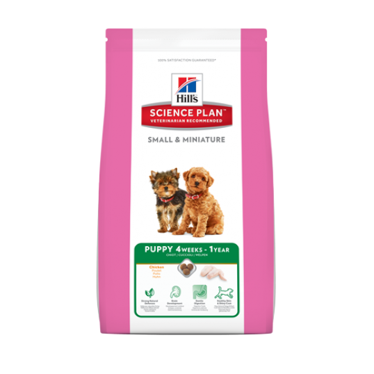 Hill's Science Plan™ Puppy Small & Miniature Kylling