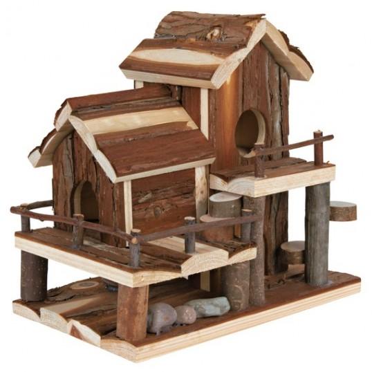 Gnaverhus BIRTE passer bla. til hamster og mus. mål: 25 x 24 x 16 cm