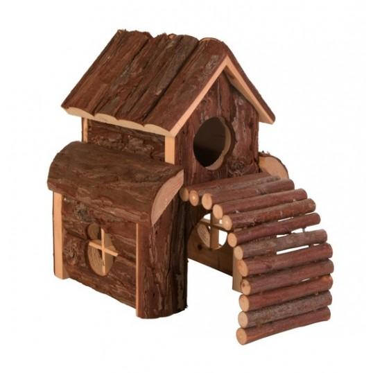 Gnaverhus FINN passer bla. til hamster og mus. mål: 13 x 20 x 20 cm.
