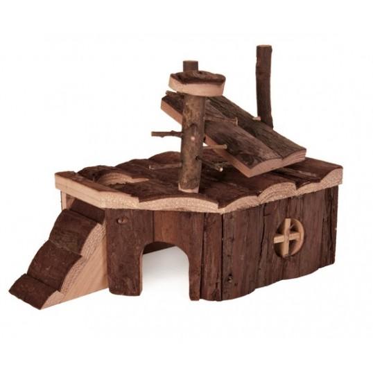 Gnaver hus KJELD passer bla. til hamster og mus. mål: 24 x 17 x 14 cm.