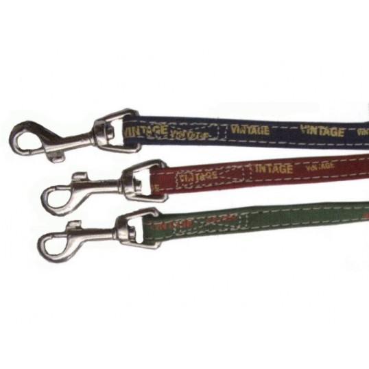 Hundeline med håndtag Vintage. Ca. 100cm