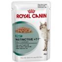 Royal Canin Instinctive +7 Gravy. Tynde bidder i sovs. Vådfoder. Til katte over 7 år. 12 ps. á 85 g.