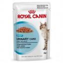 Royal Canin Urinary Care Gravy. Tynde bidder i sovs. Vådfoder. Til voksne katte over 1 år med følsomme urinveje. 12 ps. á 85 g.