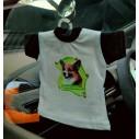 Siberian Husky, hv. Vælg: klistermærke, nøglering, broche, slipsenål, mm