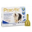 Loppemiddel Prac-tic spot-on til hunde. Indeholder 3 pipetter.