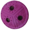 Gummilegetøj til godbidder. Ø ca. 11,5 cm. Ass. farver