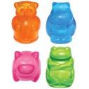 Kong Squeezz Jels - farverige dyr. 1 stk. Ass. farver.