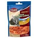 Premio Cheese Chicken Cubes kattegodbidder. ca. 50 g. i posen