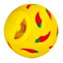 Snackbold i plast med justerbar åbning. ø 7cm. Ass. farver