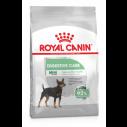 Royal Canin Mini Digestive Care. Til voksne og modne hunde af små racer (1-10 kg) over 10 måneder med følsom fordøjelse.