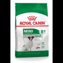 Royal Canin Mini Adult 8+. Hunde over 8 år.