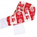 Xmas Jule-halstørklæde til hund.