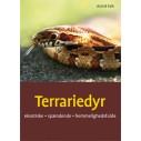 Bogen: Terrariedyr - eksotiske, spændende og hemmelighedsfulde. Af Astrid Falk