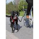 Afstandsholder til cyklen, med aflastnings fjeder. Også egnet til store hunde.