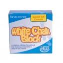 White Chalk Blocks / Hvid kalkblok 150 g.