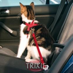Sikkerhedssele til kat 20-50cm. Rød.