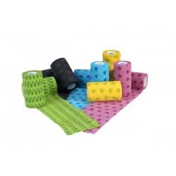 Fun-Flex Pet Bandage / wrap. Ass. farver. 1 rulle á 7,5 cm x 4,5 M.
