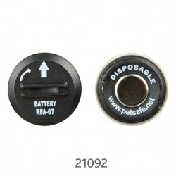 Pakke med 2 Batterier 6V til anti-gøhalsbånd 2103