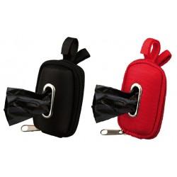 Taske til høm høm poser med velkro-bånd til fastgørelse (Inkl. 20 poser). Ass. farver. 1 stk.
