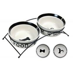 Eat-on-feet skålesæt i keramik