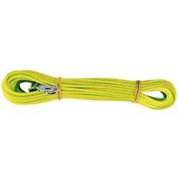 ALAC Sporline i gummi, gul. 4mm. 15m.