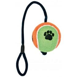 Hundelegetøj Tennisbold med reb.