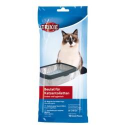 Poser til kattebakker. Indeholder 10 stk.