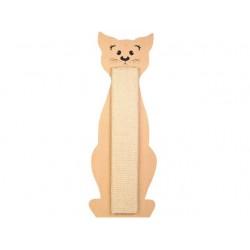 43161 Kat Kradsebræt. Katteformet. Sisal. 58,5x21 cm.