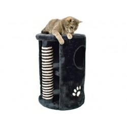 Cat Tower med stamme. Koksgrå. H. 58 cm.