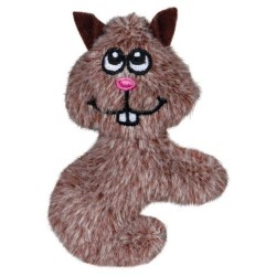 Kattelegetøj i plys med catnip