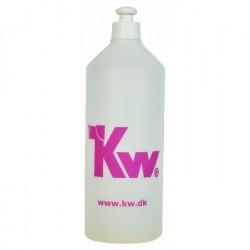 KW blandeflaske 1 L. til shampoo og balsam